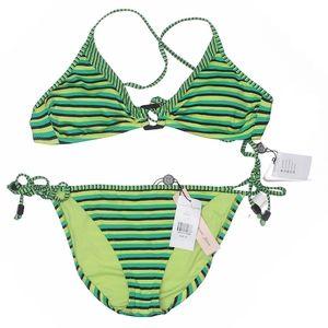 Nanette Lepore Striped Bikini
